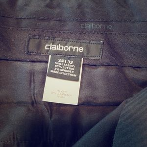 Claiborne black dress pants